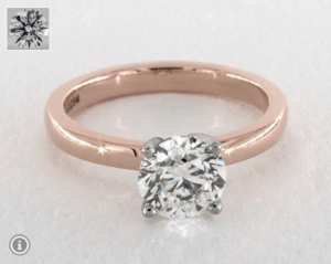 James Allen VS2 Diamond Ring