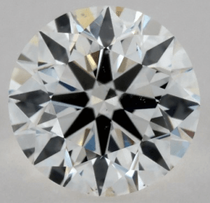 1 CARAT G-SI1 EXCELLENT CUT ROUND DIAMOND