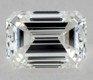 0.91 CARAT G-VS2 EMERALD CUT DIAMOND