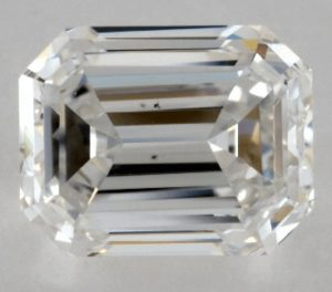 1.01 CARAT F-VS2 EMERALD CUT DIAMOND