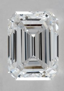 2.40 CARAT D-VS2 EMERALD CUT DIAMOND