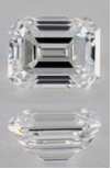 E Color Emerald Cut Diamonds