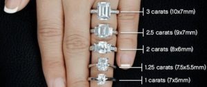 Emerald Cut Diamonds Carat Sizes