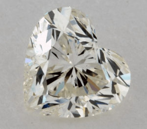 0.91 CARAT K-SI1 HEART SHAPE DIAMOND