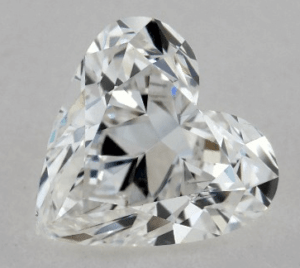 0.92 CARAT F-SI1 HEART SHAPE DIAMOND