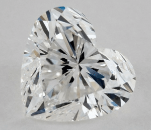1.01 CARAT F-VS1 HEART SHAPE DIAMOND