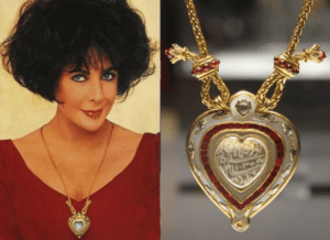 Elizabeth Taylor Heart Shaped Diamonds