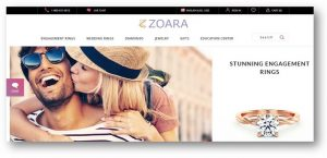 Zoara Website