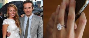Blake Lively Oval Cut Engagement Ring