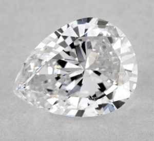 CHUBBY - 0.47 CARAT E-VS1 PEAR SHAPE DIAMOND