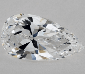 ELONGATED - 1.01 CARAT D-VS1 PEAR SHAPE DIAMOND