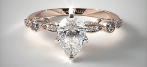 James Allen Pear-Shaped Diamonds
