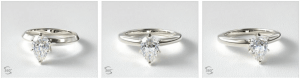 Pear-Shaped Diamond Engagement Rings