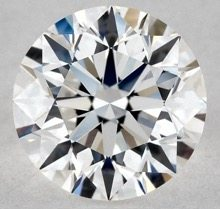 0.90 CARAT E-VVS2 EXCELLENT CUT ROUND DIAMOND