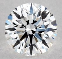 0.90 CARAT F-IF EXCELLENT CUT ROUND DIAMOND