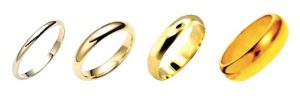 10k, 14k, 18k Yellow Gold Rings