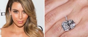 Kim Kardashian Cushion Cut Diamond