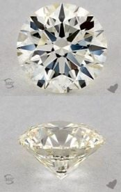 L colored diamonds