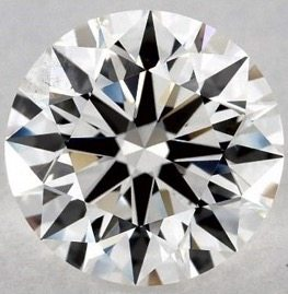 2.05 CARAT H-SI1 EXCELLENT CUT ROUND DIAMOND