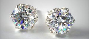Cut for Diamond Stud Earrings