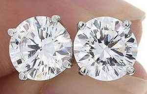Diamond Color for Diamond Stud Earrings
