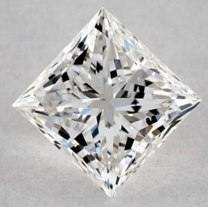 1.00 CARAT G-VS2 IDEAL CUT PRINCESS DIAMOND