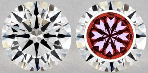 1.06 CARAT G-VS2 TRUE HEARTS IDEAL DIAMOND