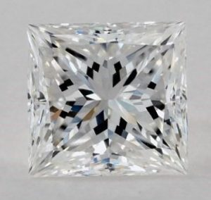 1.50 CARAT E-IF IDEAL CUT PRINCESS DIAMOND