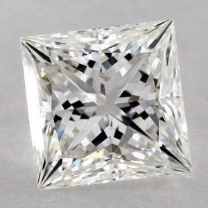 1.50 CARAT G-SI1 IDEAL CUT PRINCESS DIAMOND 2