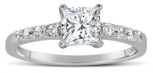 2 Carat Princess Cut Diamond Ring Cut