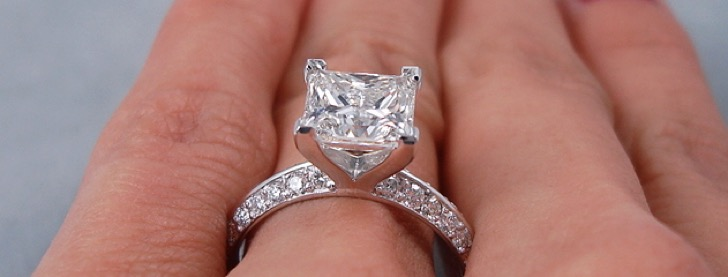 Image result for 2 carat diamond ring