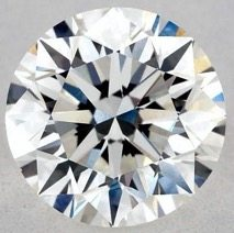 Good Polish - 1.00 CARAT H-VS1 VERY GOOD CUT ROUND DIAMOND
