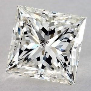 Not Eye Clean - 2.01 CARAT H-SI2 IDEAL CUT PRINCESS DIAMOND