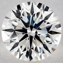 Very Good Polish - 1.00 CARAT G-VS2 EXCELLENT CUT ROUND DIAMOND