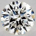 3.74 CARAT J-SI2 EXCELLENT CUT ROUND DIAMOND