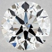 Good Symmetry - 1.00 CARAT G-VS2 VERY GOOD CUT ROUND DIAMOND