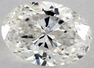 0.92 CARAT G-SI1 OVAL CUT DIAMOND