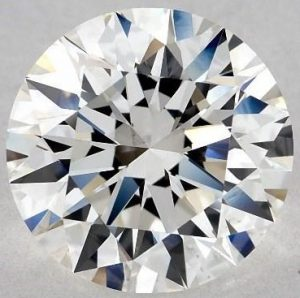 2.60 CARAT H-VS2 EXCELLENT CUT ROUND DIAMOND