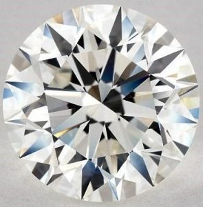 3.01 CARAT I-VS1 EXCELLENT CUT ROUND DIAMOND
