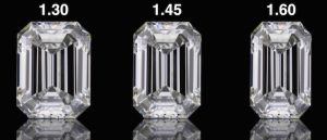 5 Carat Emerald Cut Diamond Length to Width Ratio