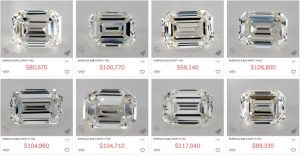 James Allen 5 Carat Emerald Cut Diamond