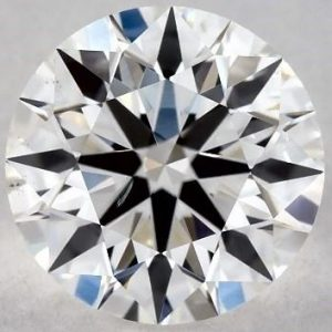 Sku-3824043 - 0.75 CARAT G-SI1 TRUE HEARTS IDEAL DIAMOND