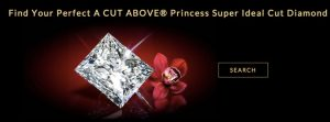 Whiteflash A Cut Above Princess Super Ideal Diamonds