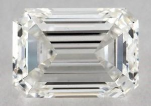 1.05 CARAT G-VS1 EMERALD CUT DIAMOND