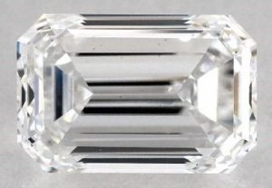 1.09 CARAT D-VS1 EMERALD CUT DIAMOND