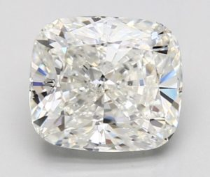 3.70-Carat Cushion Cut Diamond