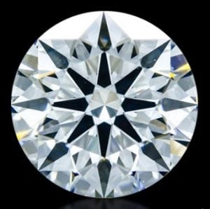 1.065 ct F VS2 A CUT ABOVE® Hearts and Arrows Diamond
