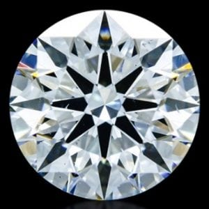 1.065 ct F VS2 A CUT ABOVE Hearts and Arrows Diamond