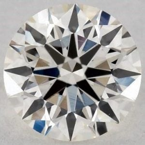 0.70 CARAT J-VS1 EXCELLENT CUT ROUND DIAMOND SKU-4489064