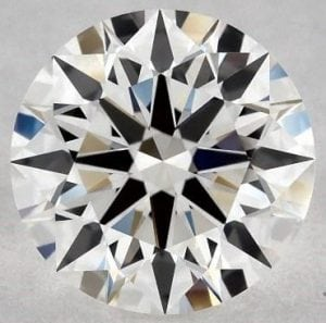 0.83 CARAT G-VVS1 EXCELLENT CUT ROUND DIAMOND